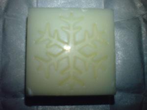 ホワイトビス(チョコ模様2)